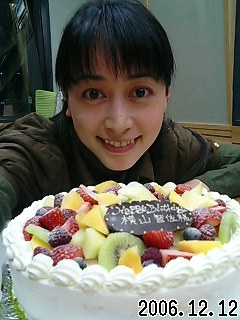 早くもケーキ(*^ー^)ノ