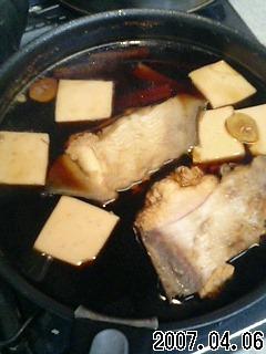 カレイの煮付け。