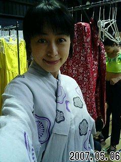 武道館の衣装。