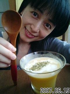冷たいスープ(*^_^*)