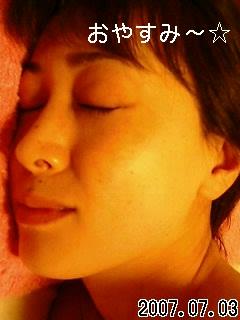 いい夢を(^_-)-☆