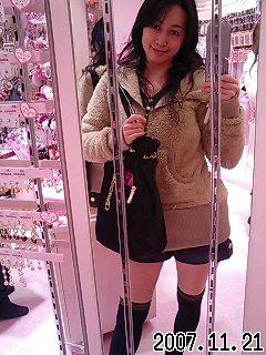 渋谷っぽい服装で(ёωё)