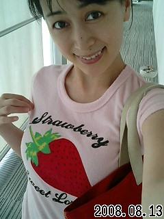 いちごTシャツ(=^▽^=)