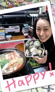 年越し海鮮鍋パーティ(☆o☆;)/