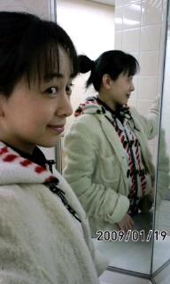 三面鏡で…(・o・)