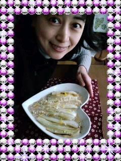 ハートのお皿(*^o^*)