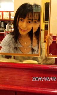 鏡のあるお店(≧∇≦)
