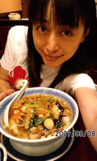 刀削麺(^O^)/