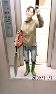 豪雨(>_<)