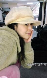 帽子(^ー^)♪