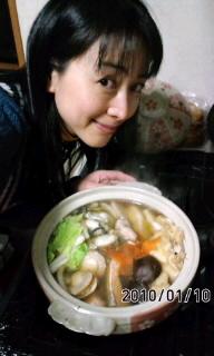 海鮮鍋(^∀^)ノ