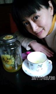 ゆず茶(*^o^*)