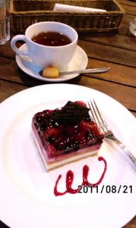 オープンカフェ(≧ε≦)
