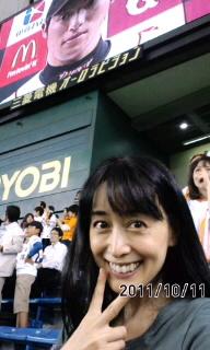 野球観戦(^O^)/