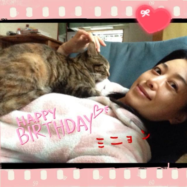 お誕生日 (*^_^*)