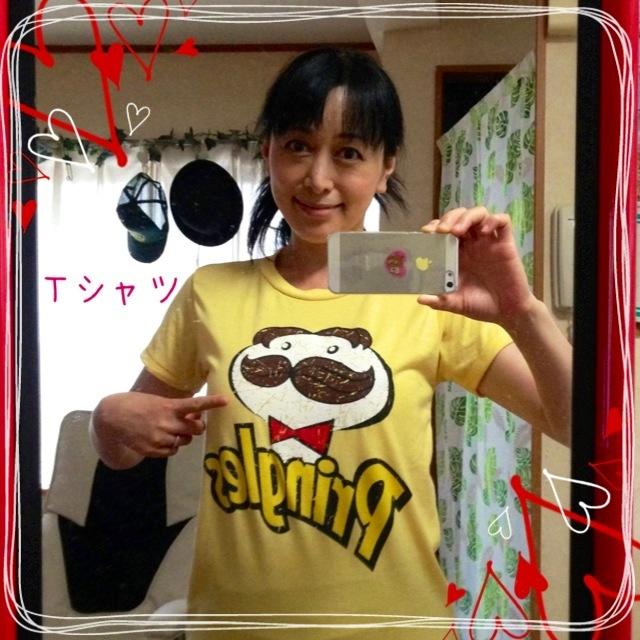 新しいTシャツ (*^_^*)