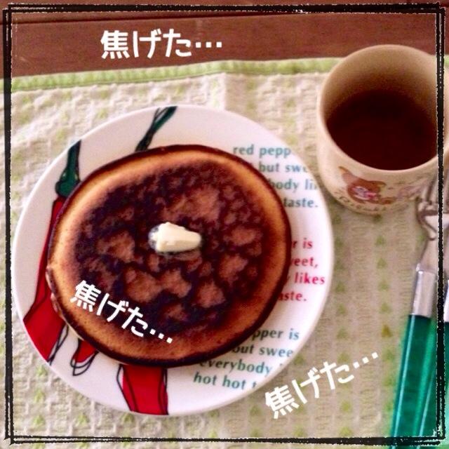 ホットケーキ(*^_^*)
